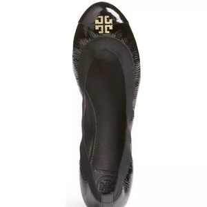 NWOB Tory Burch 'Jolie' Patent Leather Flats 7.5
